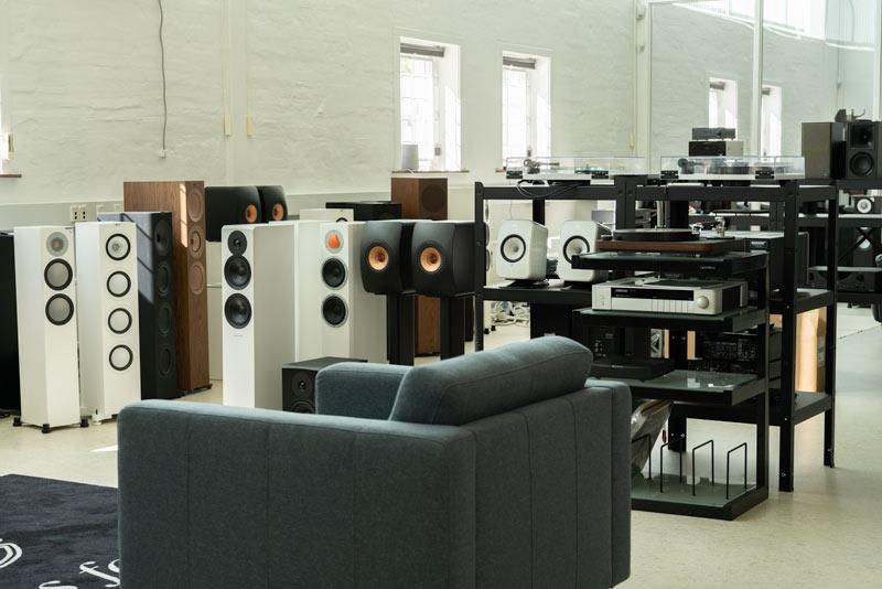 Foto af butikslokale hos Tape Connection