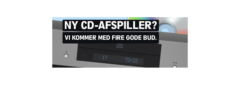 CD-afspiller? - her er fire bud