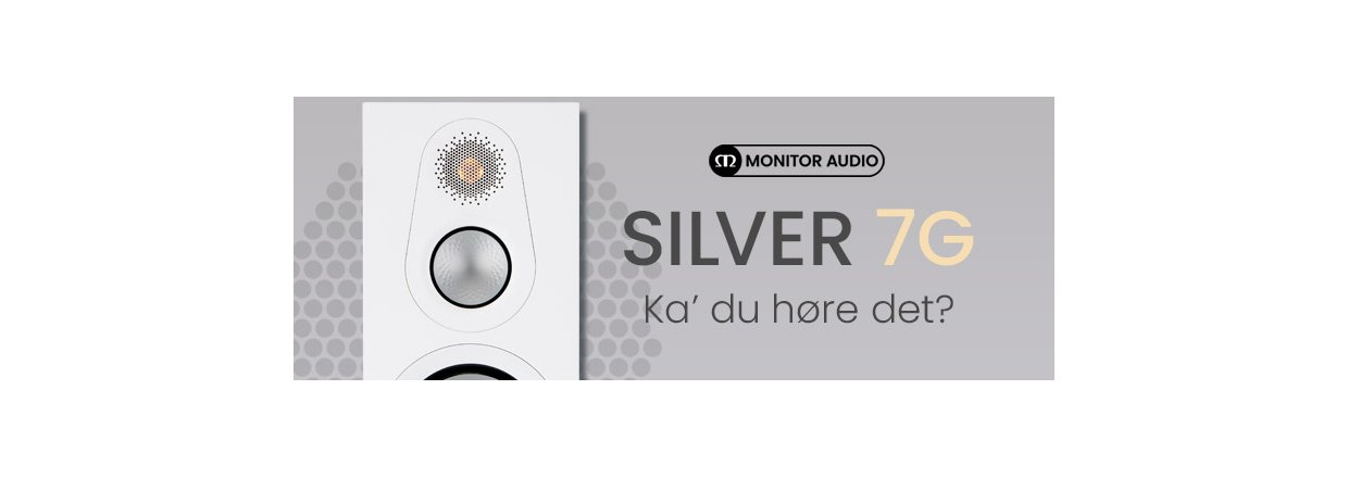 Ny Silver 7G-serie fra Monitor Audio