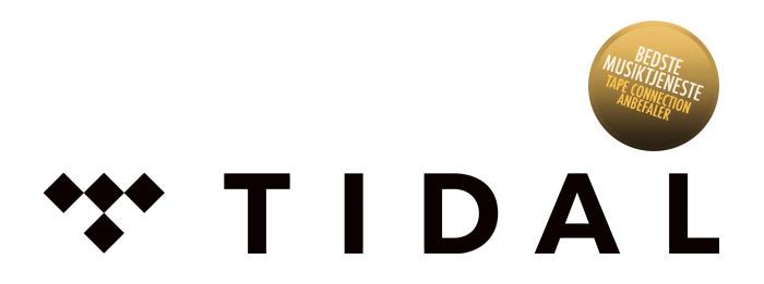 TIDAL vinder som bedste musiktjeneste