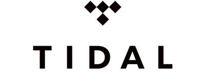 Tidal logo i sort og hvid