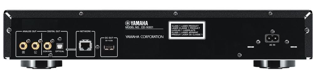 yamaha cd n301 cd afspiller kombineret med. Black Bedroom Furniture Sets. Home Design Ideas