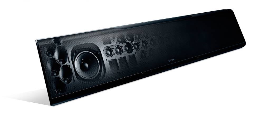 yamaha ysp 5600 soundbar med surround lydprojektion. Black Bedroom Furniture Sets. Home Design Ideas