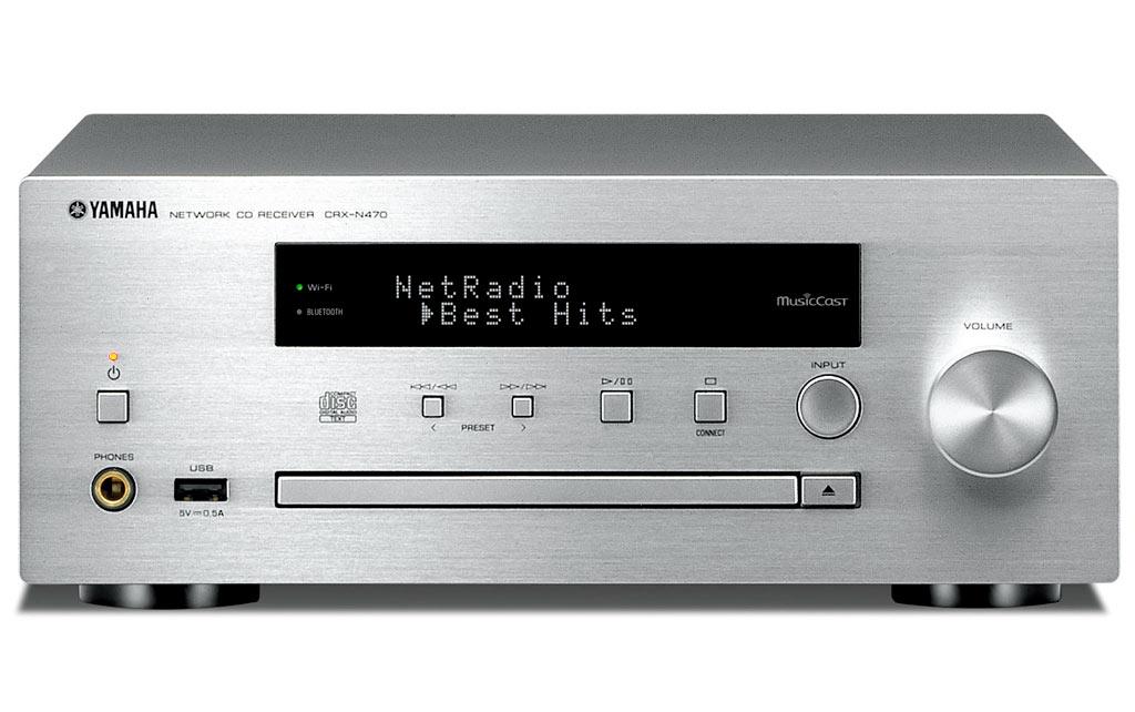 yamaha crx n470d mini receiver med dab og musiccast. Black Bedroom Furniture Sets. Home Design Ideas