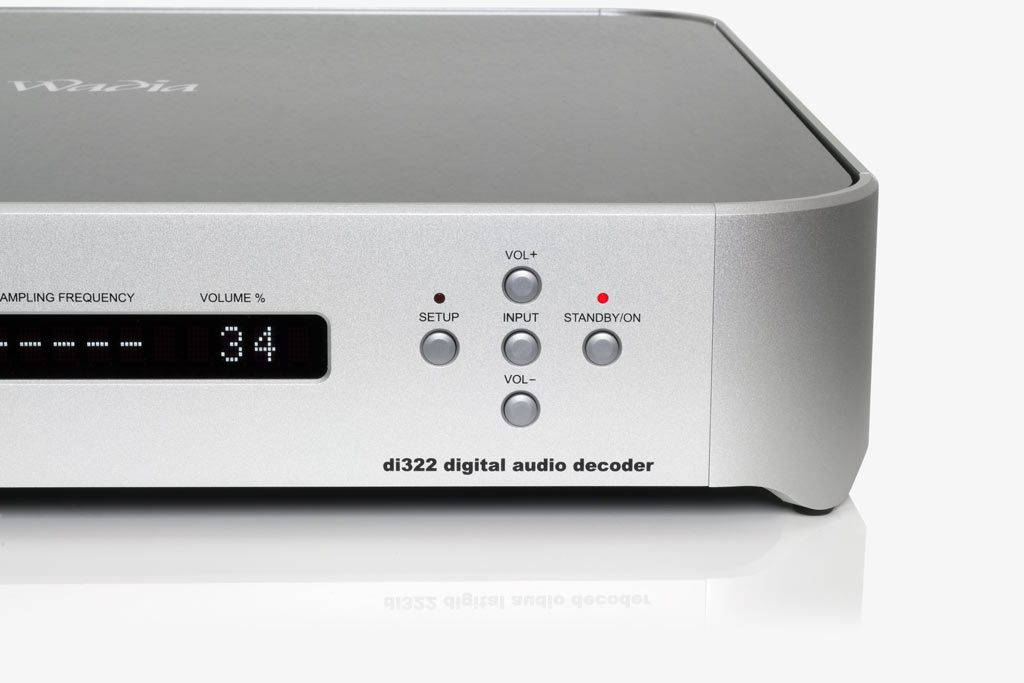 Wadia di322, high-end DAC med DSD, DXD