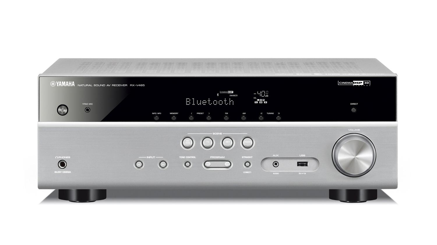 yamaha rx v485 billig surround receiver. Black Bedroom Furniture Sets. Home Design Ideas