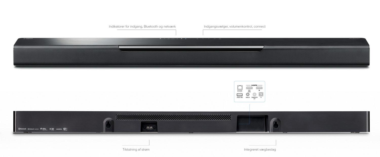 yamaha musiccast bar 40 soundbar med surround. Black Bedroom Furniture Sets. Home Design Ideas